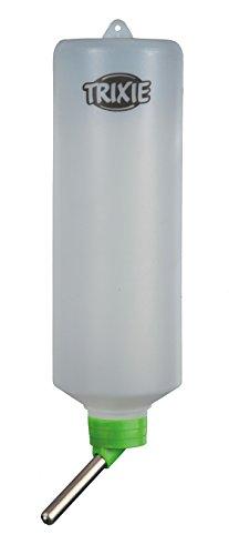 Trixie Kleintiertränke, Trinkflasche – 600 ml für z.B. Kaninchen, diverse Farben - 5