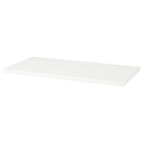 IKEA LINNMON Tischplatte weiß