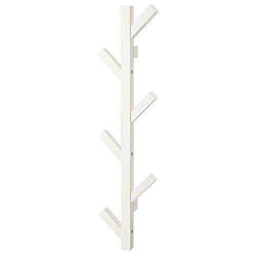 My Stylo Collection Percha, blanco, 78 cm, madera maciza, tamaño del producto: 19 cm Fondo: 7 cm Altura: 78 cm, Materiales Madera Sólida, Pintura Acrílica