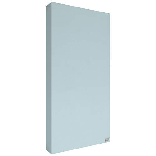 Schallabsorber Premium 100x50x11 cm by Addictive Sound – Akustikplatten Akustikbild – Viele Farben - 13.Hellblau