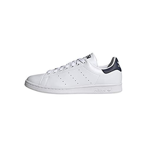 adidas Originals Men's Stan Smith (End Plastic Waste) Sneaker, White/White/Collegiate Navy, 12