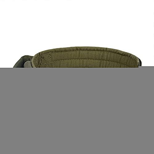 XIAOSHI Collar K9 con Hebilla metálica para Perros Collar de Perro (Color : Ranger Grün, Size : L)
