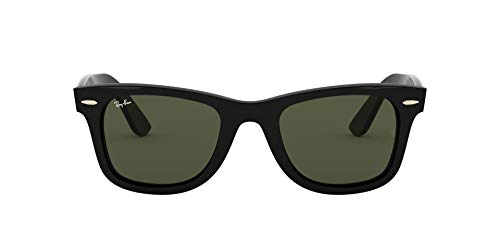 Ray-Ban 4340 Gafas de Sol, Black, 50 Unisex-Adulto