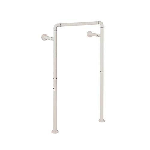 Gpzj Freistehender Toilettenrahmen Surround Höhe Höhenverstellbare gepolsterte Toilettengriffstangen Hilfe für ältere Menschen mit Behinderungen Behinderte - Nr. 2