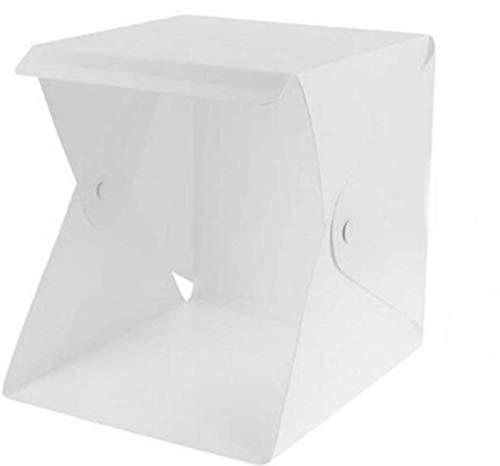 撮影ボックス 撮影キット ミニ撮影ボックス 22*23*24cm小型 2色付き背景布 LEDライト付き USB電源 撮影ブース カメラ スマホ用写真撮影用 折り畳み式 軽便携帯型 組み立て簡単