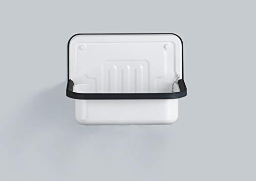 Alape 1101000000 AG.Stahlform505 Ausgussbecken, Weiß