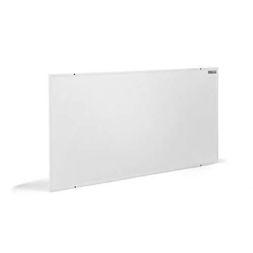 COSTWAY Infrarotheizung 700W, Elektrische Wandheizung, Konvektorheizung Überhitzungsschutz, Heizkörper für 12m²/ 80-100 ℃ (122 x 62 x 1,5 cm)