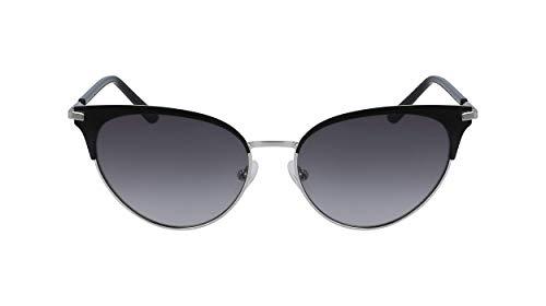 Calvin Klein Feminino 001, Satin Black, 55mm, 16mm, 140mm