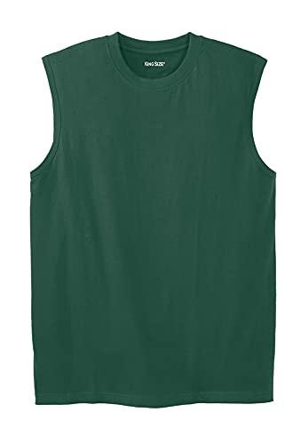 KingSize Men's Big & Tall Shrink-Less Lightweight Tank Shirt