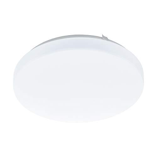 Preisvergleich Produktbild EGLO LED Deckenlampe Frania,  1 flammige Deckenleuchte,  Material: Stahl,  Kunststoff,  Farbe: weiß,  Ø: 28 cm
