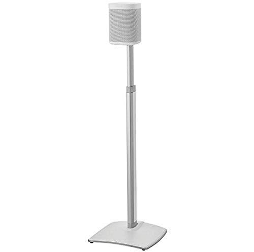 Sanus Supporto per altoparlante wireless regolabile in altezza per SONOS ONE PLAY: 1 e PLAY: 3 - Bianco