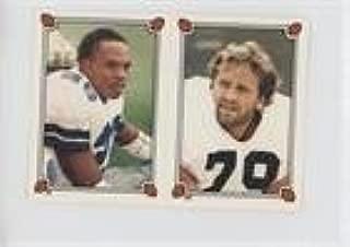 Bob Golic; Michael Downs (Football Card) 1987 Topps Album Stickers - [Base] #185-35