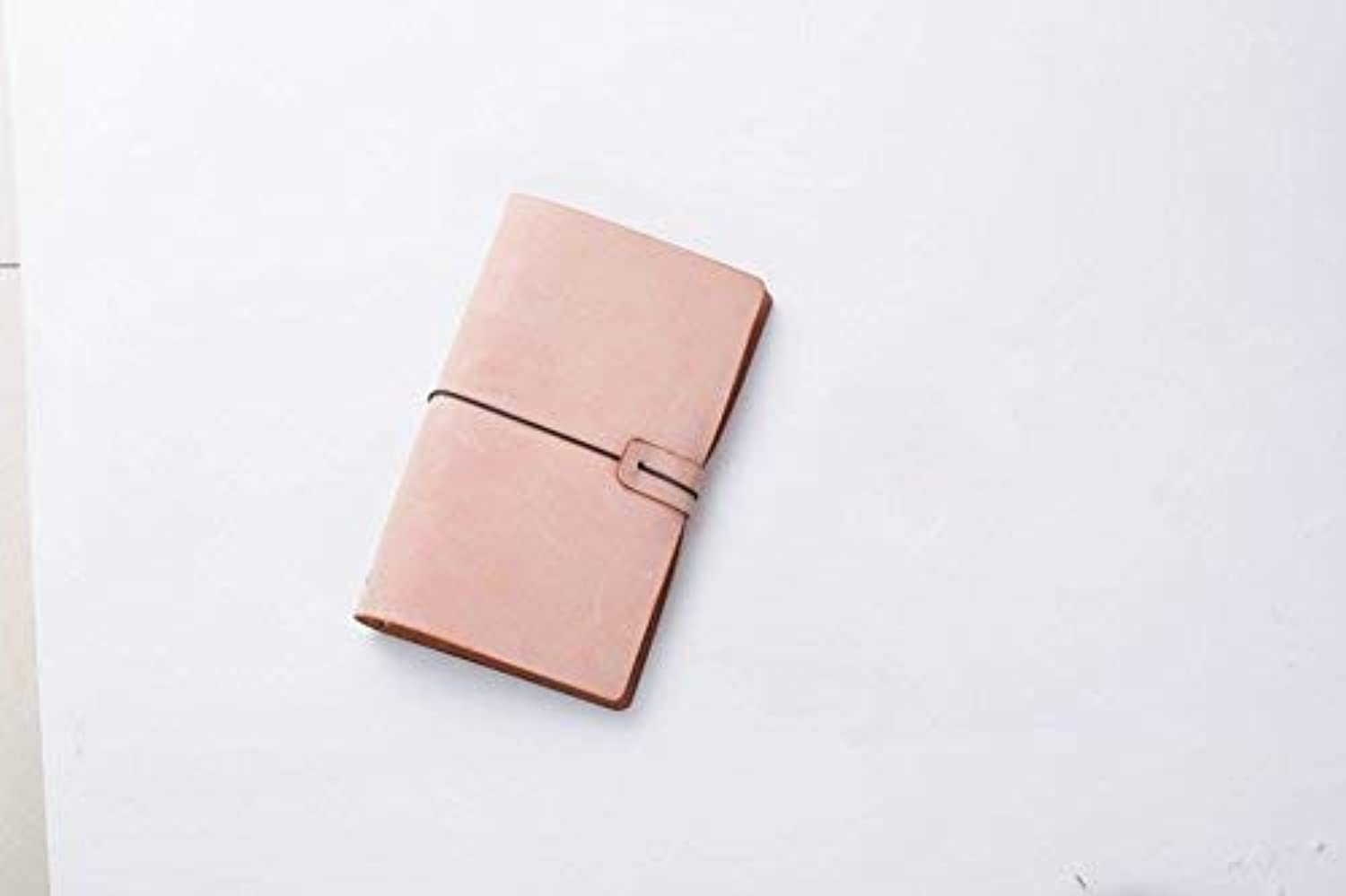 OIBHFO Home Nützliches Nützliches Nützliches 180Pages Pure Farbe Vintage Style Rindsleder Cover Notebook (Gelb) B07LCXVSCG  | Hat einen langen Ruf  52804e