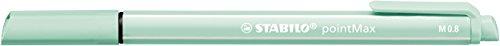 Stabilo 488/4-02 Rotulador Punta Media PointMax – Estuche con 4 Colores Pastel