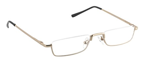 Michael Pachleitner Group Lesebrille Anton  / +2,50 Dioptrien / gold