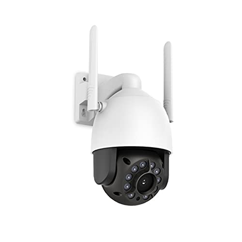 N \ A Cámara de Seguridad para Exteriores, cámara Impermeable de vigilancia WiFi inalámbrica 1080P, con detección de Movimiento, visión Nocturna, Acceso Remoto, Funciones de Audio bidireccional