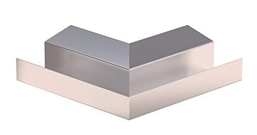 Aussenwinkel für Kastendachrinne Simpel Aluminium Natur