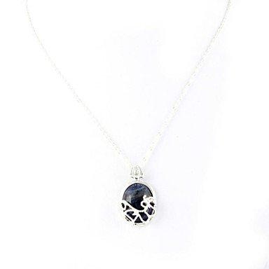 JYZHP die Art des vampire diaries katherine's walk under sunshine Halskette Sterling Silber Halskette Anhänger aus Folie (1 pc)