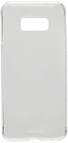 Capa Protetora para Galaxy S8+, Privilege, Capa Protetora Flexível, Transparente