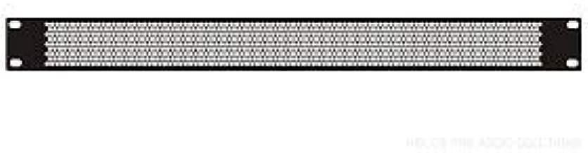 Penn-Elcom Perforated Rack Panel (1U - Vented)