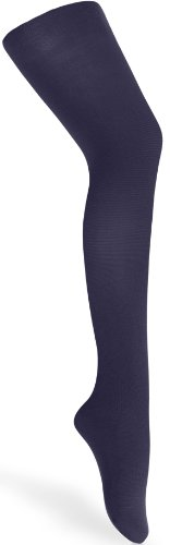 Merry Style Medias Pantys Microfibra 60 DEN Niña WLSS001 (Azul Marino 2, 104-110)