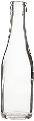 187 ml Clear Champagne Bottles, 24 per case