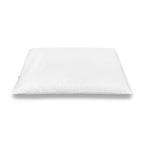 FineSleep Bio - Cojín de Trigo Sarraceno Japonés Sobakawa Soporte Ortopédico Transpirable para Cuello y Cabeza | 40x60 cm