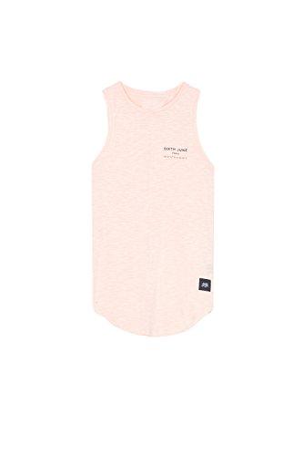 Sixth June Paris GPS - Camiseta de tirantes para mujer, color rosa rosa XL