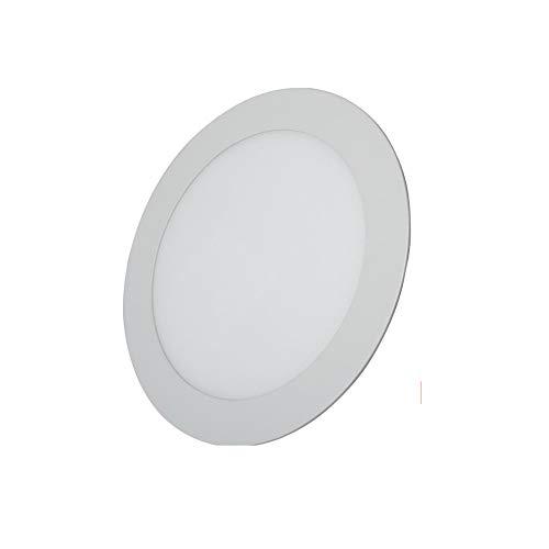 LED Downlight redondo blanco 6W Blanco frio 6000K 510lm 220V-240v Alta calidad