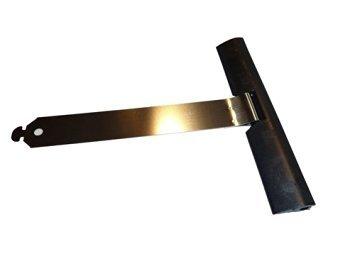 Juego de 10ganchos flexibles de fijación para persianas, de JK, tamaño mini, longitud total: 14,5 cm