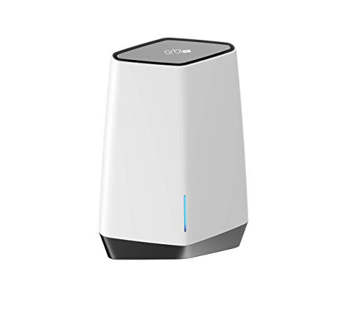 Netgear Orbi Pro SXK80B03 - Sistema Mesh WiFi 6 AX6000 Tribanda (1 Router y 2 satélite) con Cobertura de 825 m2 y 256 Dispositivos