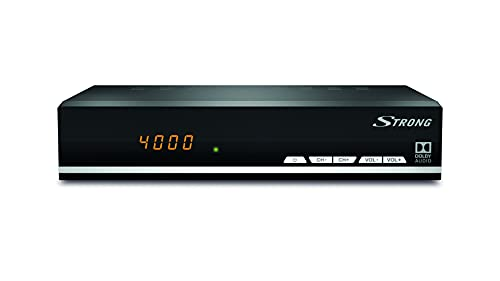 STRONG SRT 7007 DVB-S2 receptor de satélite (HDTV, Ethernet, RSS, USB reproductor de media, Audio digital, SCART, HDMI) negro