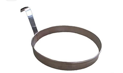 Aro Modelador De Tapioca/Panquecas 16cm Em Inox