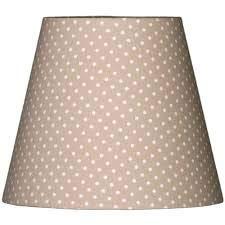 Lieblingslampen Lampenschirm beige hellbraun Pünktchen Tupfen gepunktet PunkteShabby Nordika