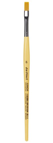 daVinci GH3046 Junior Synthetics Malerpinsel, flach Serie 304, Größe 6