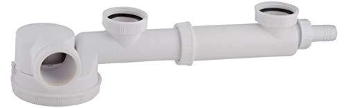 Spoelen sifon laag afstand 160-280 mm dubbele sifon voor de wastafel