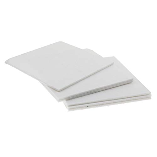 Schallabsorptions Platten Schallabsorber 6pcs Für Heimkino Studio Raum - Weiß