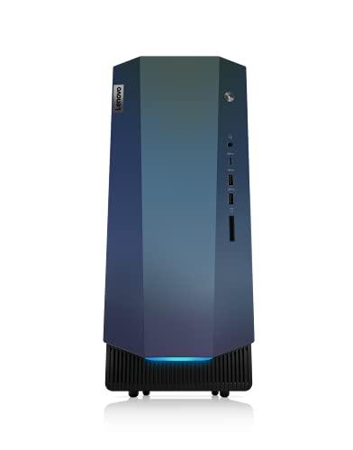 Lenovo IdeaCentre Gaming 5 Desktop-PC (AMD Ryzen 7 5700G, 16GB RAM, 512GB SSD, NVIDIA GeForce RTX 3060, WiFi, Windows 11) schwarz inkl. schwarzer Tastatur + Maus 14ACN6