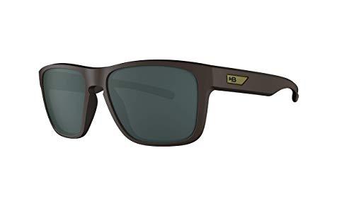 Óculos de sol H-Bomb HB AdultoUnissex Preto Mate/Marrom Único