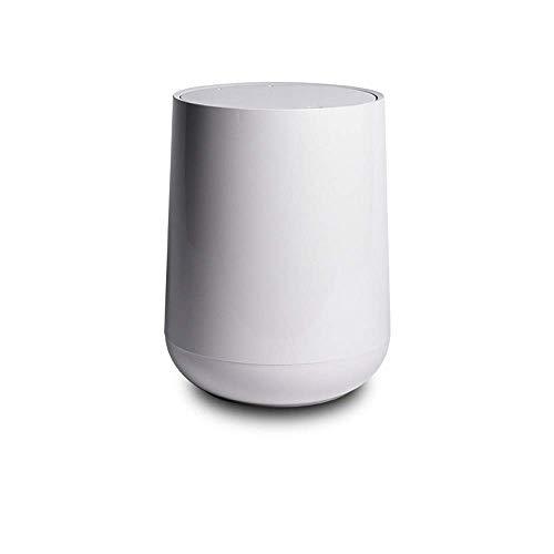 HIZLJJ 10L Badezimmer Touchless Mülleimer mit Geruchsfilter und Fragrance, automatische Sensor-Deckel, Haus oder Büro (Color : Gray)