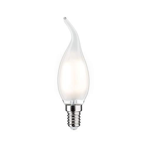 Paulmann 284.92 LED Kerze Cosylight 4,5W E14 230V Satin Warmweiß dimmbar 28492 Leuchtmittel Lampe
