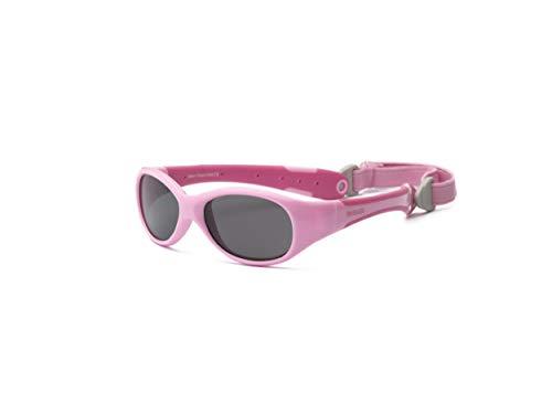 Real Kids Real Kids 2EXPPKHP Explorer Kindersonnenbrille, Flexible Passform, Größe 2+, rosa/hot-pink