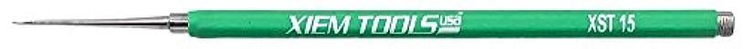 Xiem Studio Tools Needle Tool for Pottery and Ceramics (Green, Stoneware)