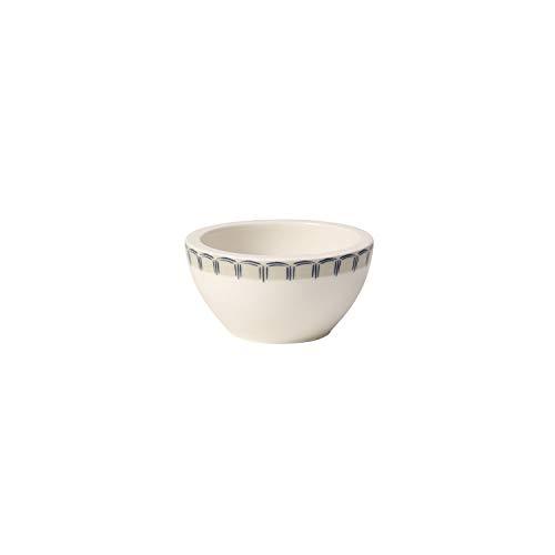 Villeroy & Boch Casale Blu Coupelle pour sauce, Porcelaine Premium, Blanc/Bleu