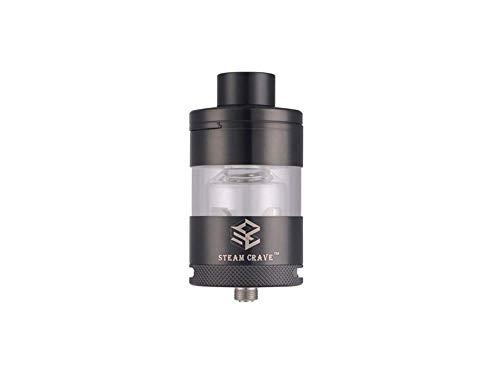 Steam Crave RTA V2 - Selbtwickelverdampfer - 7ml Tankvolumen - von Steam Crave Farbe: schwarz
