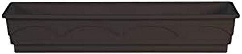 Emsa 503323 Lago aqua comfort - Jardinera (100 cm), color marrón