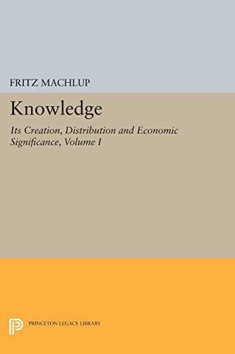 Knowledge: Its Creation, Distribution and Economic Significance, Volume I: Knowledge and Knowledge Production: 741