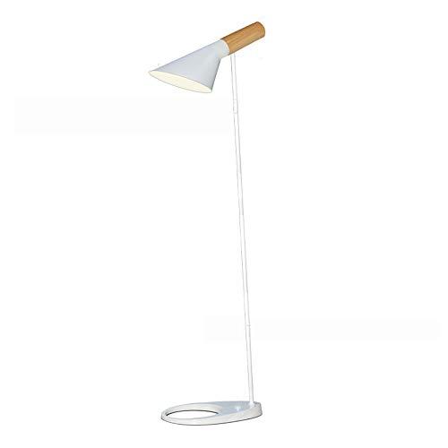 Led-vloerlamp, postmodern AJ verticaal leeslicht, geschikt voor binnenverlichting slaapkamer werkkamer lamp/metalen houder