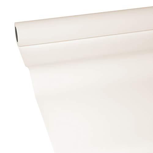 JUNOPAX 50480921 Papiertischdecke 50m x 1,15m Elfenbein nass- und wischfest