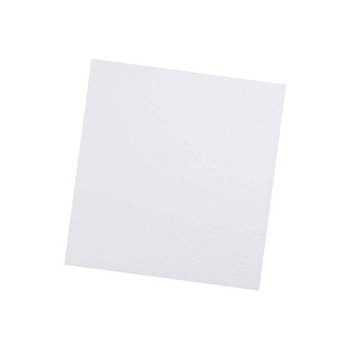220x220x3mm Cotone Isolante Cotone Termoisolante per 3D Stampante Bianco